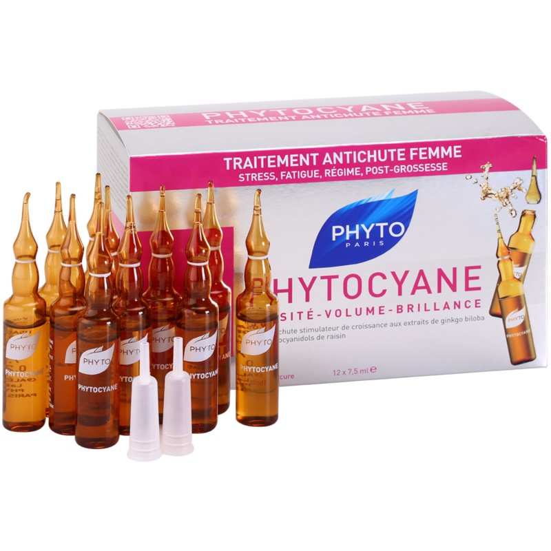 Phyto Phytocyane Revitalizing Serum Against Hair Loss 12 pc from Phyto