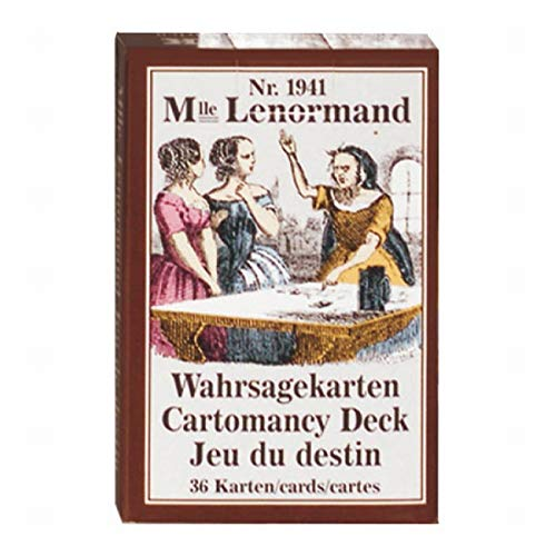 MADEMOISELLE LENORMAND WAHRSAG from Piatnik