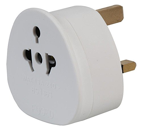 Eurosonic Travel Adaptor Plug:UK version Bulk x 20 Pieces from PIFCO