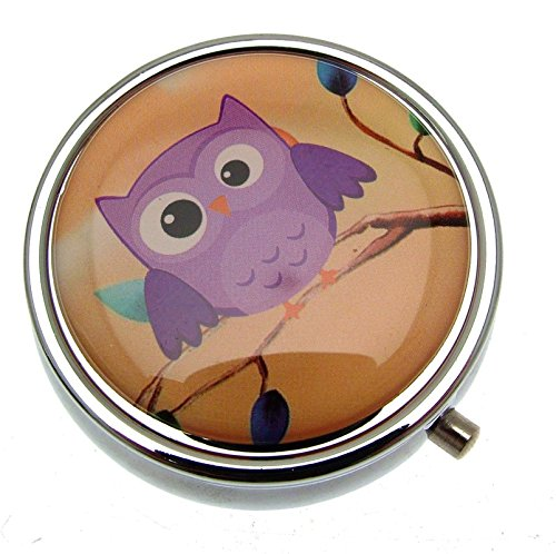 Small Pill Box Pill Case Pillboxes Pill Holder Owl Gifts Randomly Picked from Pill Box Gifts