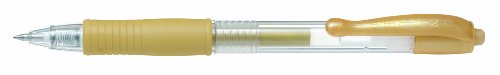 Pilot G207 Retractable Gel Rollerball 0.7 mm Tip (Box of 12) - Gold from Pilot
