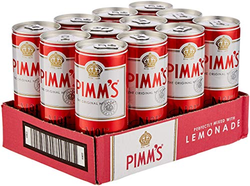 Pimm's and Lemonade Pre-Mixed and Ready to Drink Can, 12 x 250 ml from Pimm's