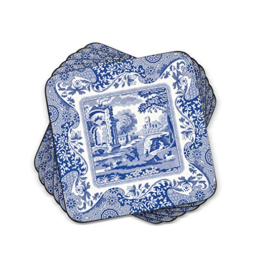 Spode Blue Italian Coasters, Set of 6 from Spode