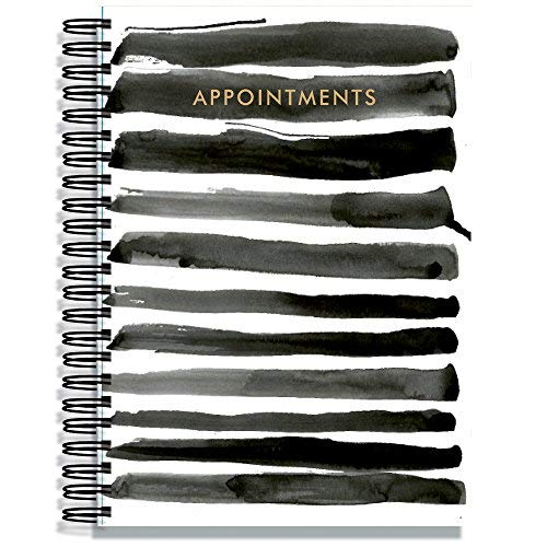 Hairdresser Salon/Beauty Appointment Book - 6 Assistant - Indian Ink from Pirongs