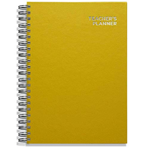Pirongs A4 Yellow Teachers' Planner 7 Lesson from Pirongs