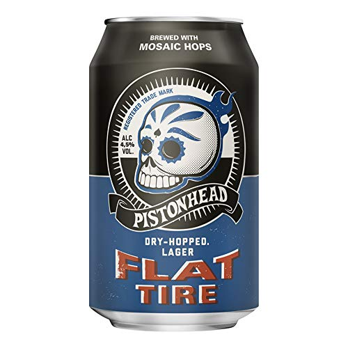 Pistonhead Flat Tire Gin, 24 x 330 ml from Pistonhead