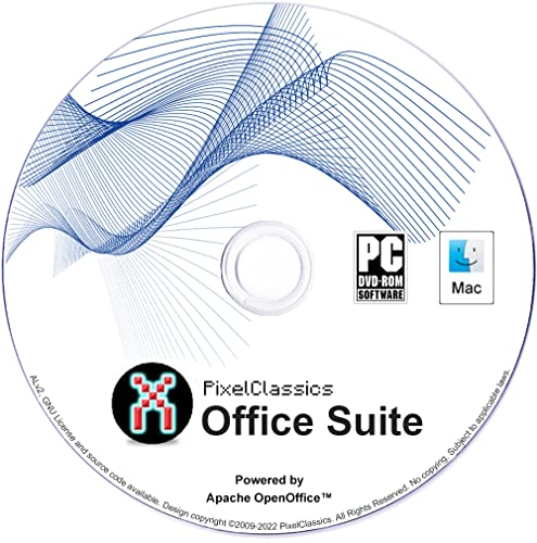 Office Suite 2018 Microsoft Office 365 2016 2013 2010 2007 Home Student Professional & Business Compatible Software Powered by Apache OpenOfficeTM for PC Windows 10 8.1 8 7 Vista XP & Mac OS X from PixelClassics