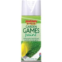 Plastikote 440.0004376.076 4376 Garden Games Spray Paint White 400ml from PlastiKote