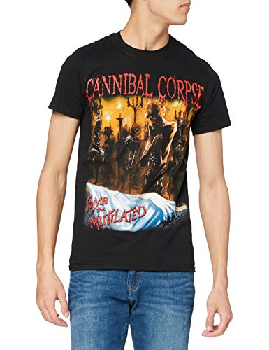 Plastic Head Cannibal Corpse Tomb of The Mutilated T Men's T-Shirt Black XX-Large from Plastic Head