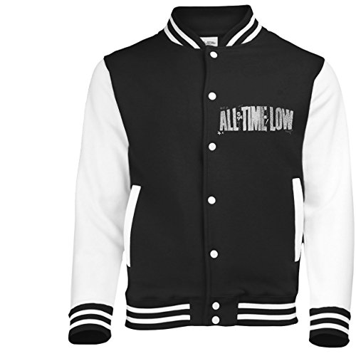 Plastic Head Men's All Time Low Sea Sick BBSJ Jacket, Black, Small from Plastic Head