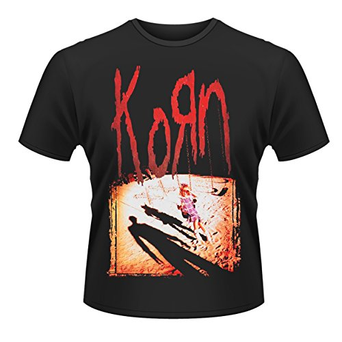Plastic Head Men's Korn T-Shirt, Black, Medium from Plastic Head