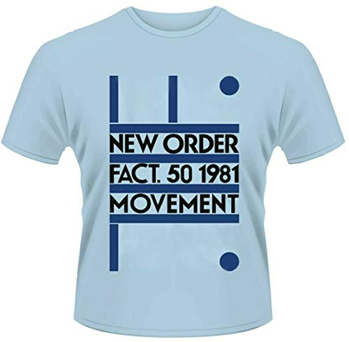 Plastic Head New Order 'Movement' T-Shirt (Extra Large) Blue from Plastic Head