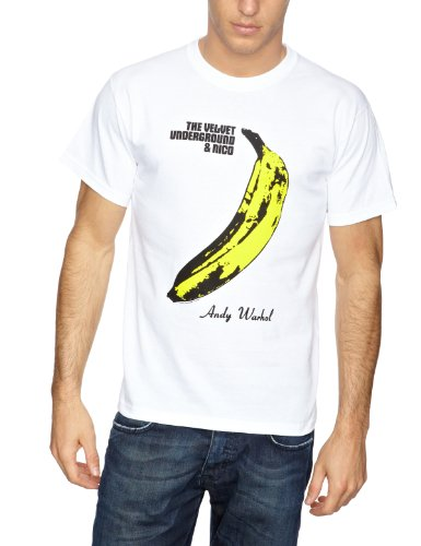 Plastic Head Velvet Underground-The Underground Warh Men's T-Shirt White Large from Plastic Head