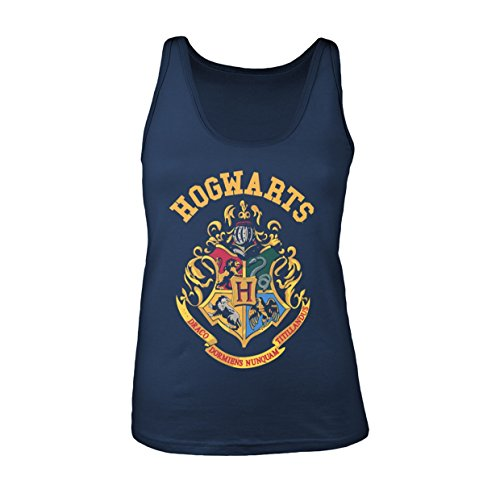 Plastic Head Women's Harry Potter Crest TV Tank Top, Blue, 14 (Size:X-Large) from Plastic Head