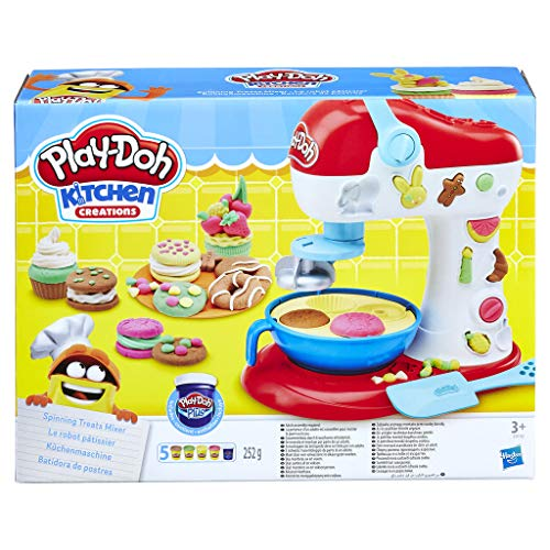 Play-Doh E0102EU4 Kitchen Creations Spinning Treats Mixer from Play-Doh