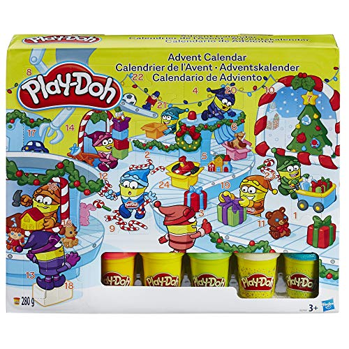 Play-Doh Advent Calendar from Play-Doh