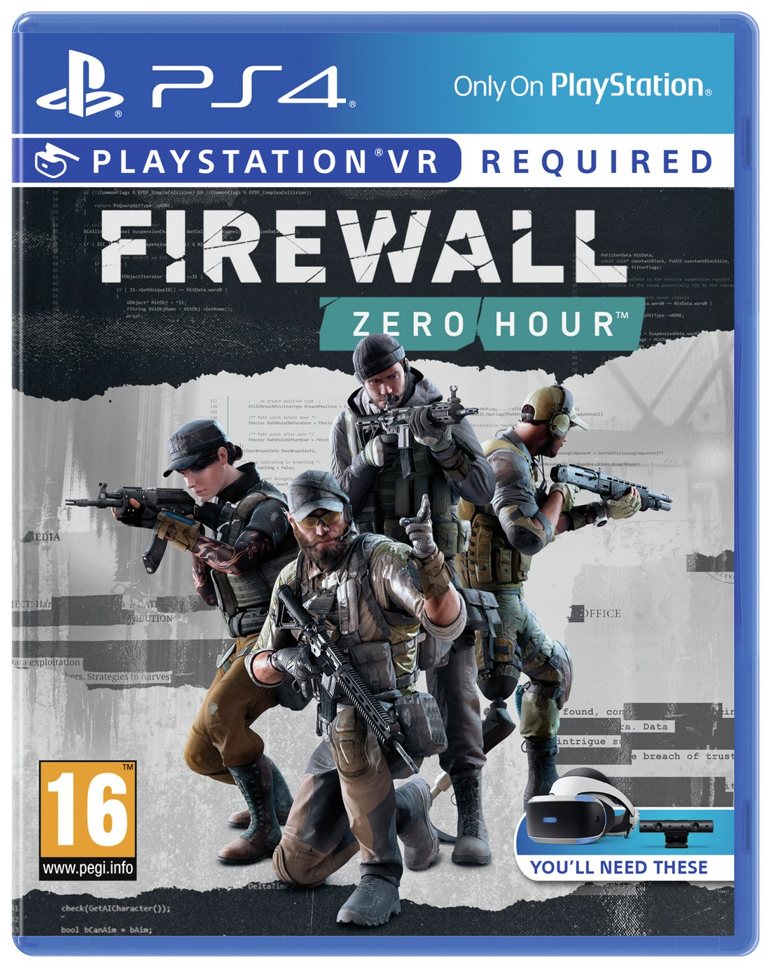 Firewall Zero Hour PS VR Game (PS4) from PlayStation