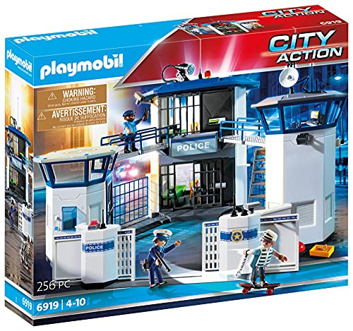 Playmobil 6919 City Action Police Headquarters with Prison from Playmobil