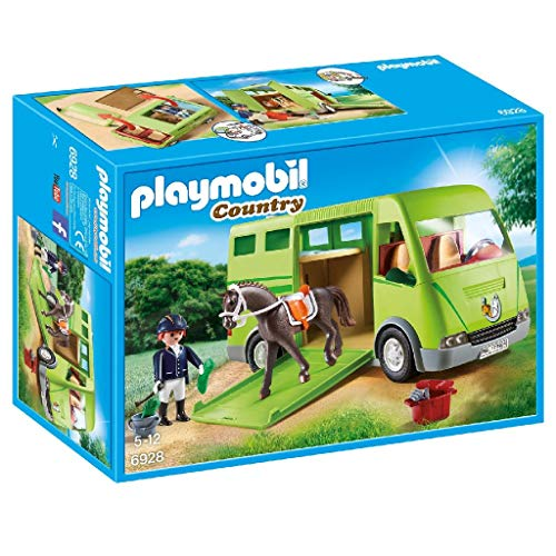 Playmobil 6928 Country Horse Box with Opening Side Door from Playmobil