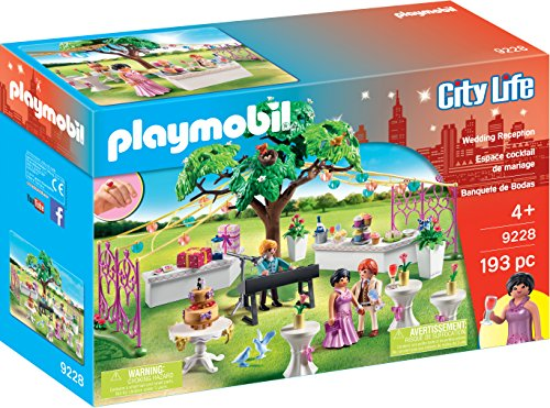 Playmobil 9228 City Life Wedding Reception with Children's Wedding Ring from Playmobil