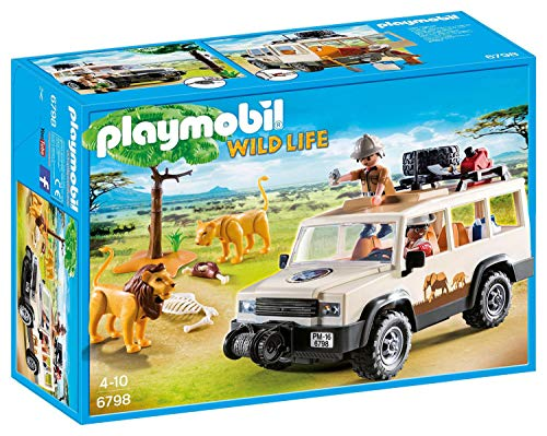 Playmobil 6798 Wildlife Safari Truck with Lions from Playmobil