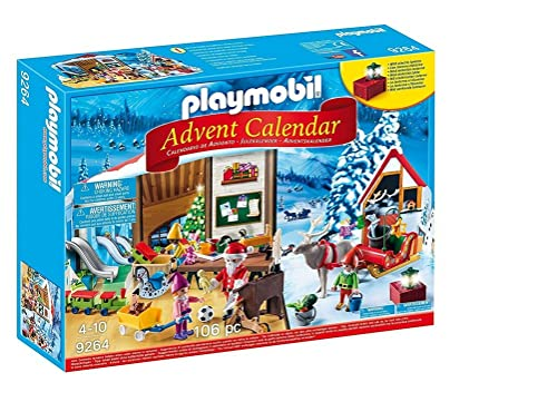 Playmobil 9264 Advent Calendar 'Santa's Workshop' with Electronic Lantern from Playmobil