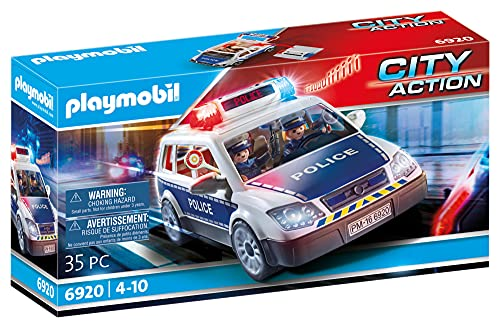 Playmobil 6920 City Action Police Squad Car with Lights and Sound from Playmobil