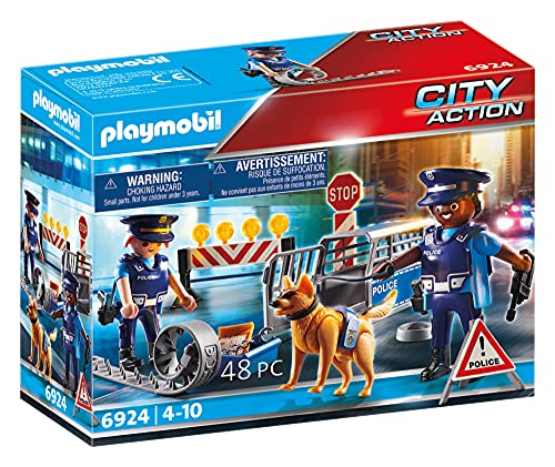 Playmobil 6924 City Action Police Roadblock from Playmobil