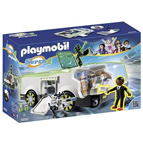 Playmobil 6692 Super 4 Techno Chameleon with Gene from Playmobil