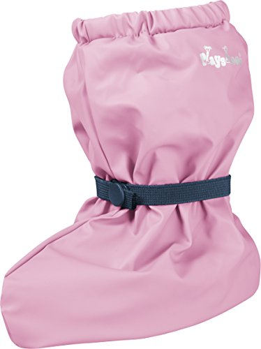 Playshoes Unisex Baby Waterproof Rain Footies with Fleece Lining, Rose, Medium from Playshoes