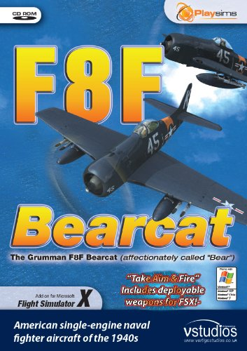 F8F Bearcat (PC CD) from Playsims Publishing