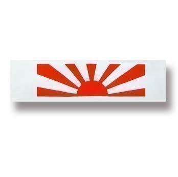 Playwell Martial Arts Head Band - Rising Sun from Playwell