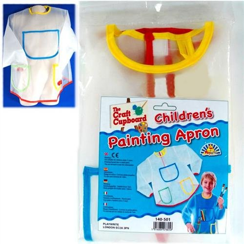 Children's PAINTING APRON Long Sleeved Waterproof from Playwrite