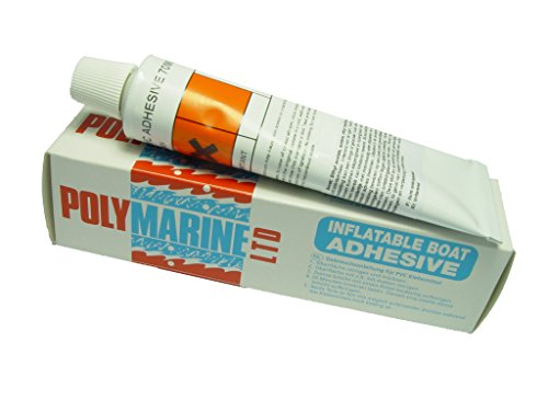 Polymarine PVC Inflatable Boat Adhesive 1 part 70ml tube from Polymarine