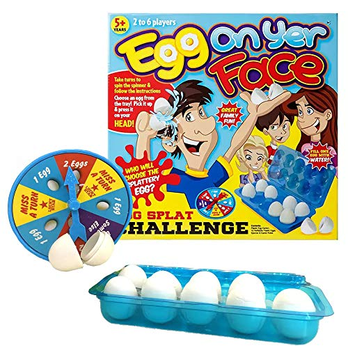"10PC CRAZY ""EGG ON YER FACE"" GAME from PMS"
