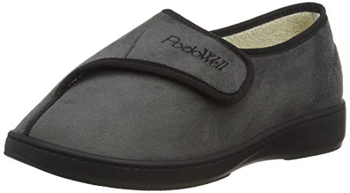 PodoWell Unisex Adults' Amiral Low-Top Slippers, (Grau 7210160), 8 UK 8 UK from PodoWell