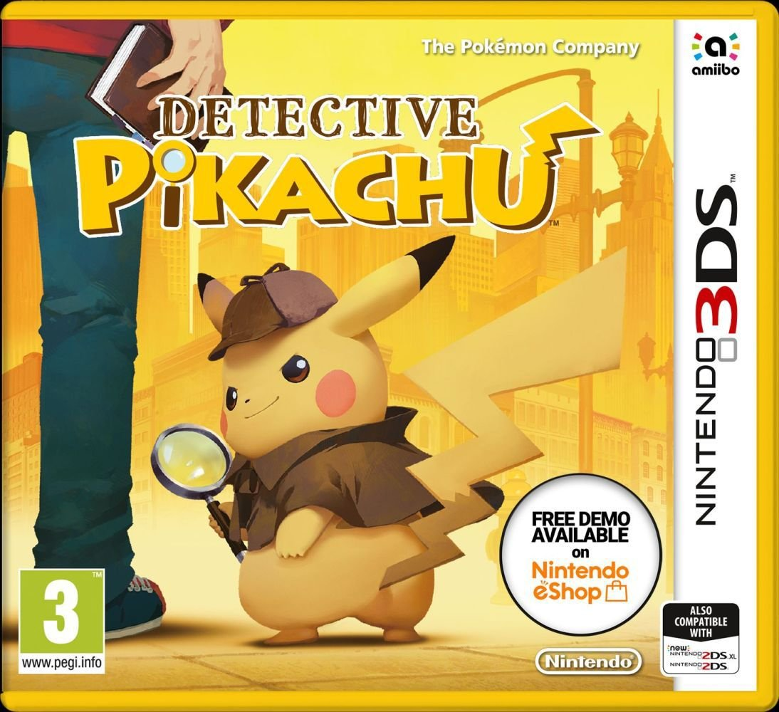 Detective Pikachu Nintendo 3DS Game from Pokemon