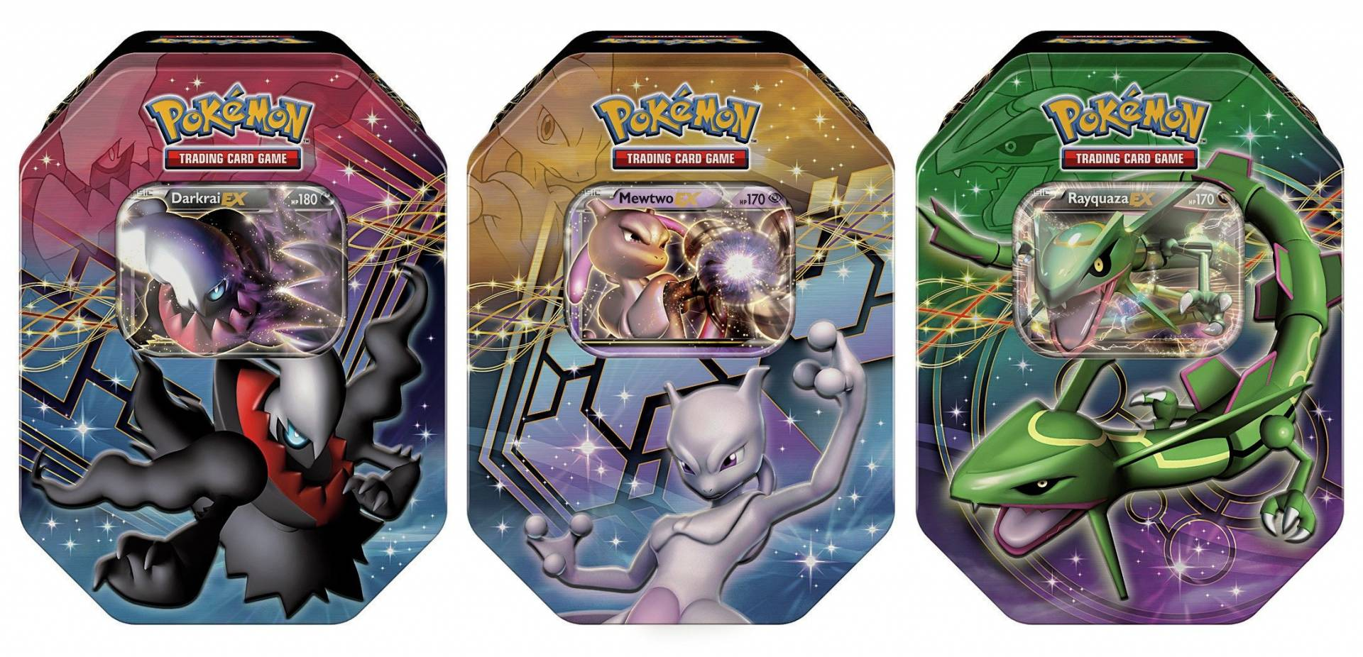 Pokemon Limited Edition Card Tin from Pokemon