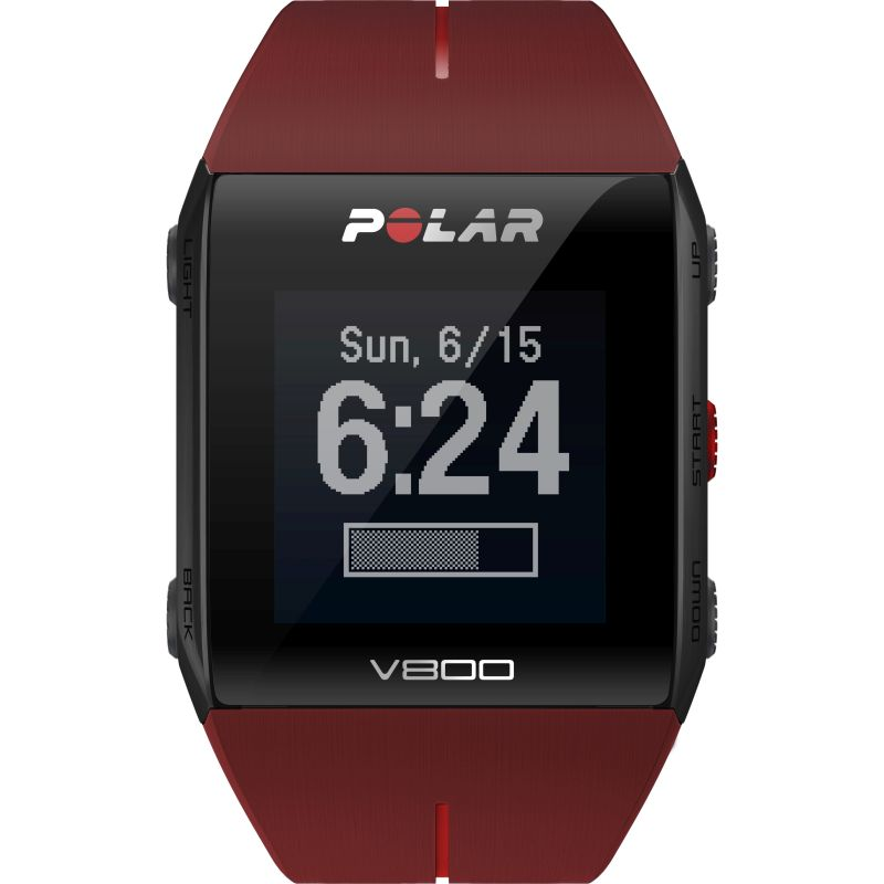 Unisex Polar V800 Bluetooth Heart Rate Monitor GPS Smart Alarm Chronograph Watch from Polar