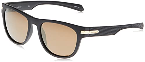 Polaroid Women's PLD 2065/S Sunglasses, Yellow (Blck Gold), 54 from Polaroid