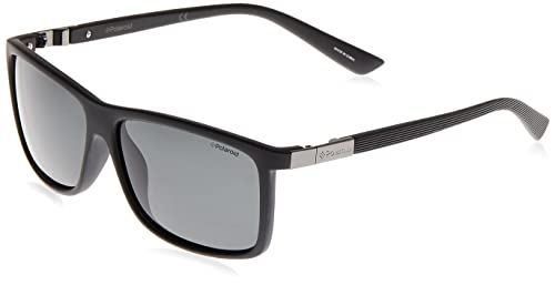 Polaroid men's P8346 Rectangular Sunglasses from Polaroid