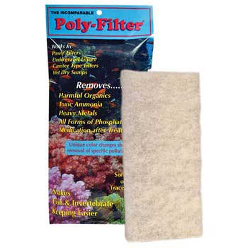"POLYBIO POLY FILTER PAD 4 X 8"" from Poly-Bio-Marine"