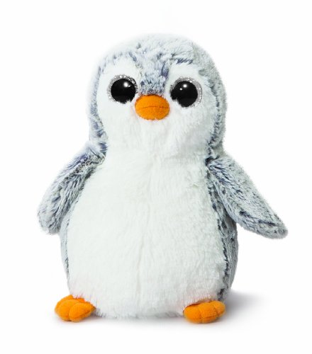 AURORA, 73747, Pompom Penguin, 11In, Soft Toy, Grey and White from AURORA