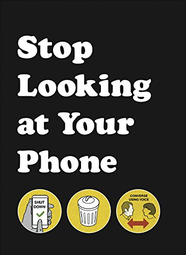 Stop Looking at Your Phone: A Helpful Guide from Pop Press