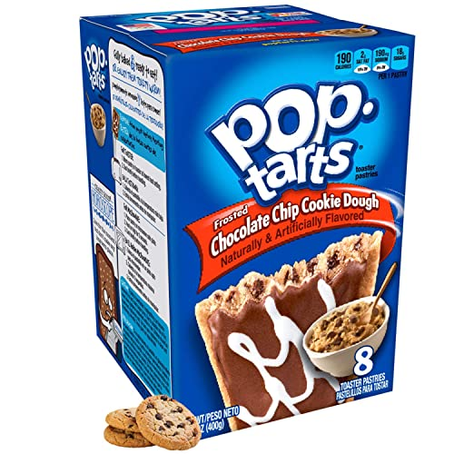 Kellogg's Frosted Chocolate Chip Cookie Dough Pop Tarts 400g from Pop Tarts