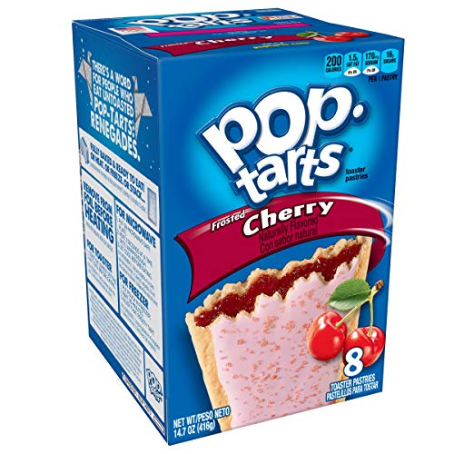 Kelloggs Pop Tarts Cherry 416g from Pop-Tarts