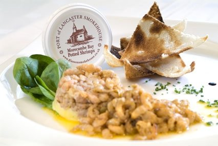 Morecambe Bay Potted Shrimp 56g x 6 from Port of Lancaster Smokehouse