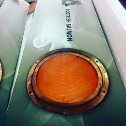 Port Of Lancaster Smoked Scottish Salmon Side- Sliced (min 800g- 1kg) from Port of Lancaster Smokehouse