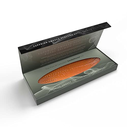 Port Of Lancaster Smokehouse Royal Fillet of Smoked Salmon 500g from Port of Lancaster Smokehouse
