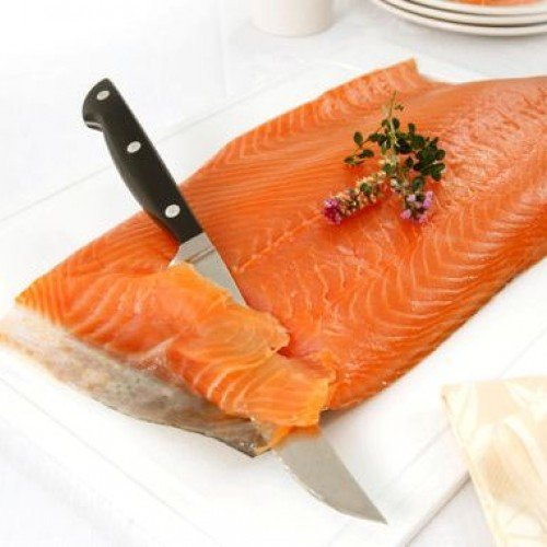 Port of Lancaster Smokehouse Smoked Scottish Salmon - Unsliced Sides min 800g- 1kg from Port of Lancaster Smokehouse